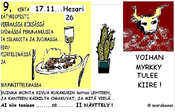 9. kerta Hesarilla