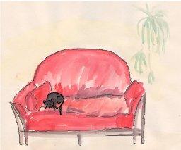 ylös sohvalta ja piirtämään! tapaaminen tänään!